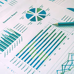 Graphs, charts for annual report